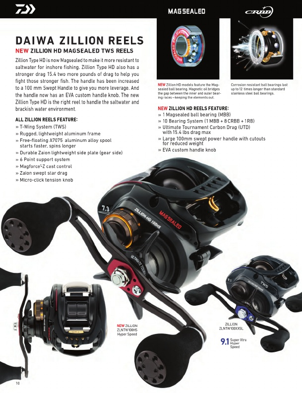 daiwa fishing tackle 2016 catalog !, page 10, Reel Combo
