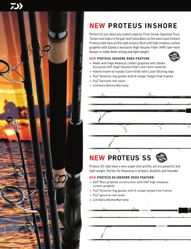 Daiwa Fishing Tackle 2016 Catalog !, Page 100