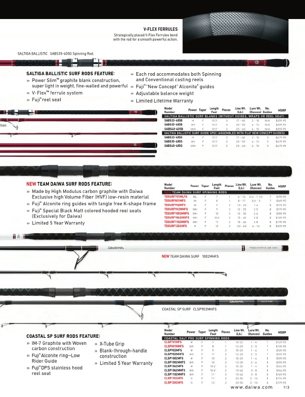 daiwa fishing tackle 2016 catalog !, page 113, Reel Combo