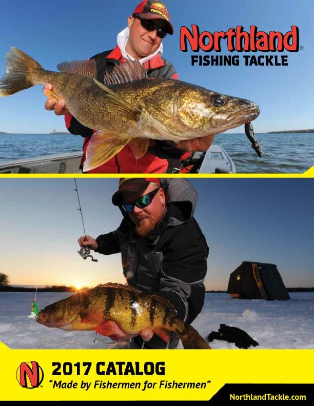 2017 northland fishing tackle catalog for Northland fishing tackle