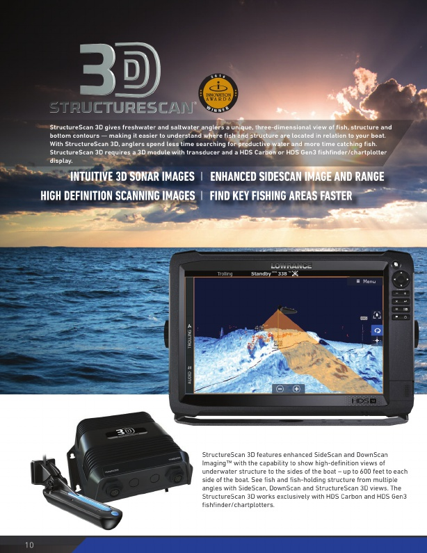 Lowrance 2018-2019 Product Catalog#, Page 10
