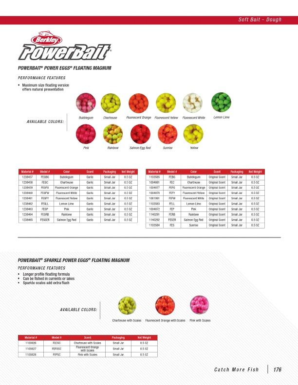 PowerBait Power Eggs Floating Magnum 1238460 NEW