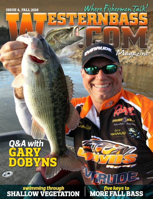 Westernbass magazine free bass fishing tips and for Fall bass fishing tips