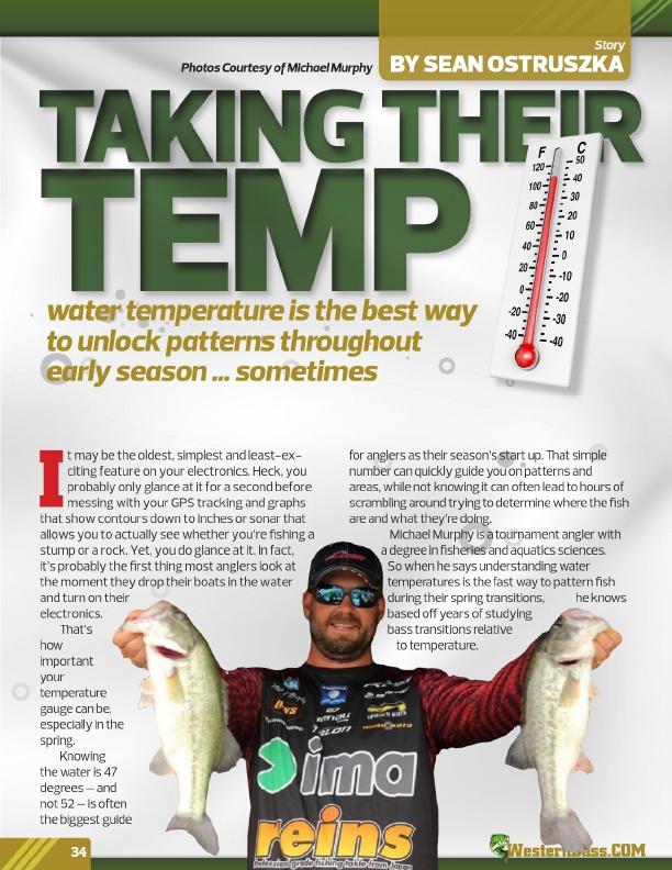WesternBass Free Magazine   Spring Bass Fishing Tips 2017