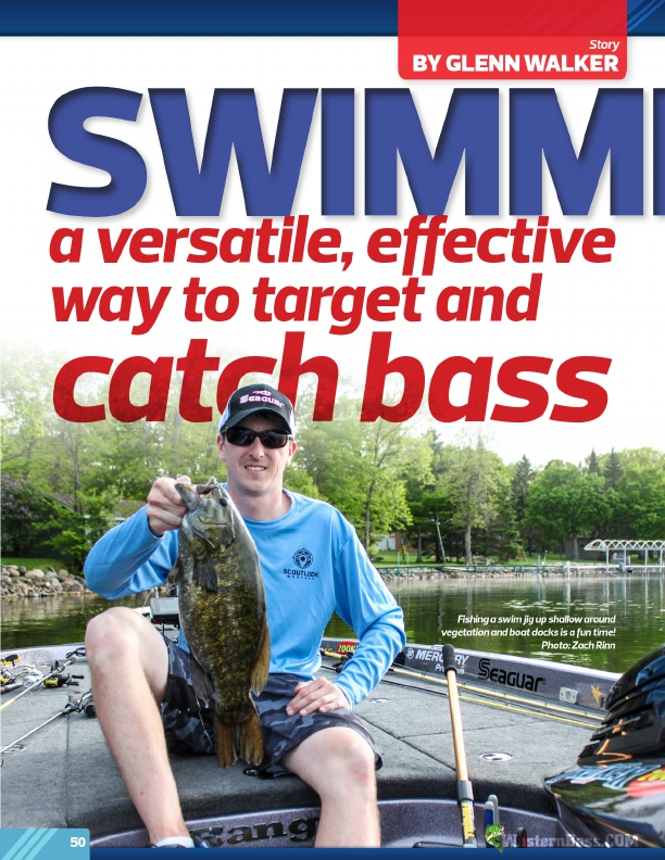 Westernbass free magazine spring bass fishing tips 2017 for Bass fishing magazine