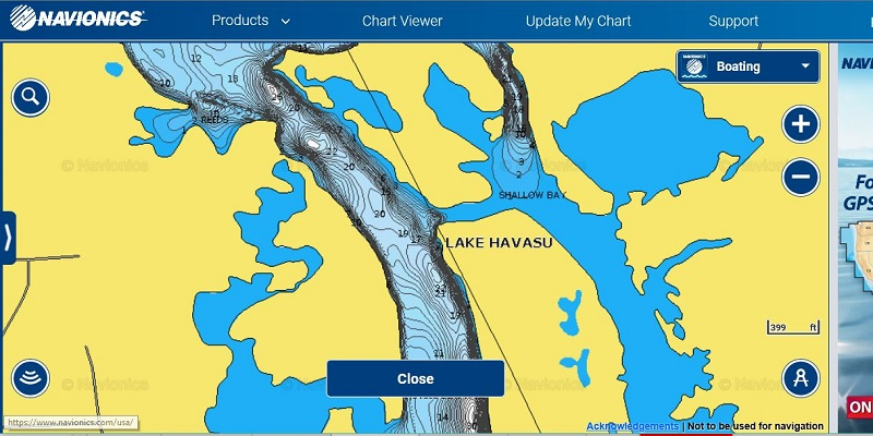 Learning Havasu Like Youve Never Fished The Lake Or Maybe You Havent - Lake contour maps free