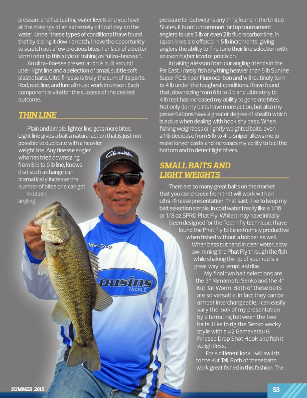 Westernbass magazine free bass fishing tips and for Bass fishing magazine