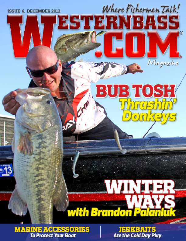 Westernbass magazine bass fishing tips and techniques for Bass fishing magazine