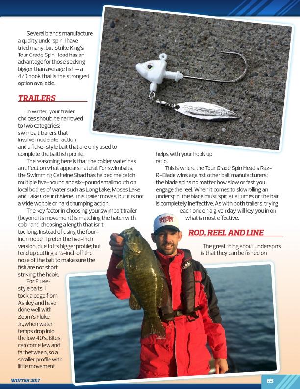 Westernbass Free Magazine Winter Bass Fishing Tips 2017